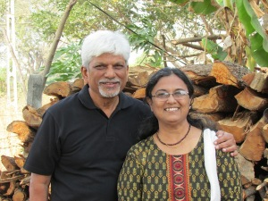 Johnny and Koki Desai